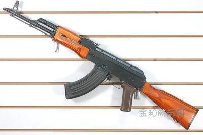 JHS((金和勝 生存遊戲專賣))免運費  LCT 全鋼製 AKM 後座力電動槍 7048 EBB