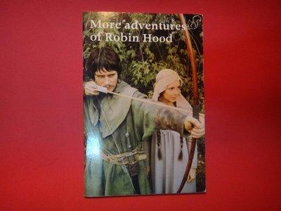 【愛悅二手書坊 11-33】More Adventures of Robin Hood
