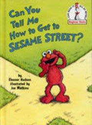 *小貝比的家*CAN YOU TELL ME HOW TO GET TO  SESAME STREET?/精裝