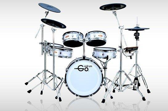 【名人樂器】Goedrum Ae6 電子鼓 電子鼓組 貝殼白