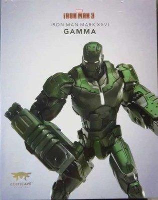全新 Comicave 1/12 合金 Ironman 鋼鐵人 Gamma 伽瑪 馬克 MARK MK 26