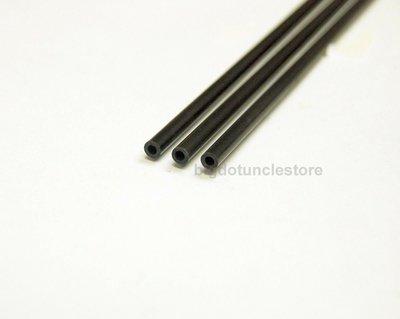 碳纖維管/碳纖管 外徑5mm 內徑3mm,長80cm 65元3支(單支25元) 合DIY 模型製作