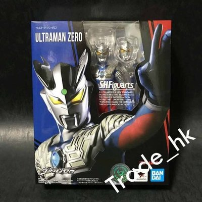 19年2月新貨!最後少量!全新未開封 日版 Bandai S.H.Figuarts SHF Ultraman Zero 超人 奧特曼 咸蛋超人