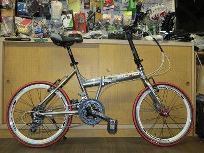 【愛爾蘭自行車】IRLAND 新七代 24速 SHIMANO 20吋 451輪組 鋁合金 折疊車 摺疊車 冠鑫自行車.