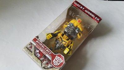 Q版搖頭模型公仔 變形金剛大黃蜂Transformer Bumble Bee FUNKO FUNKO WACKY WOBBLER電影角色玩具收藏