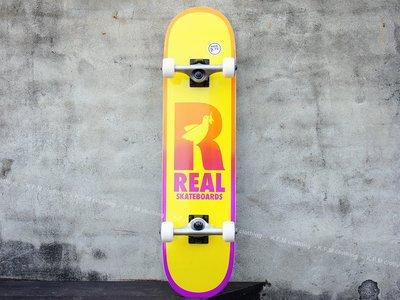 【 K.F.M 】REAL BE FREE Complete 7.75 整組 技術板 滑板 美國進口滑板