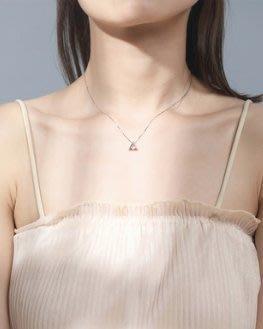 Figure Savior買2送1幾何三角形鎖骨鏈 韓版時尚創意氣質銀飾 S925純銀項鏈 現貨