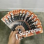 ◇Supreme Box Logo Sticker blood and sem...
