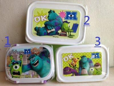 怪獸公司 Monsters University 食物盒 儲物盒 餐盒