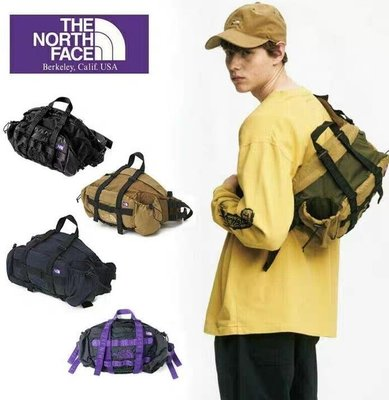 【GV】THE NORTH FACE北面紫標 20SS Lumber Pack 機能斜挎包 supreme nike 腰包 側背包 fygdyrige