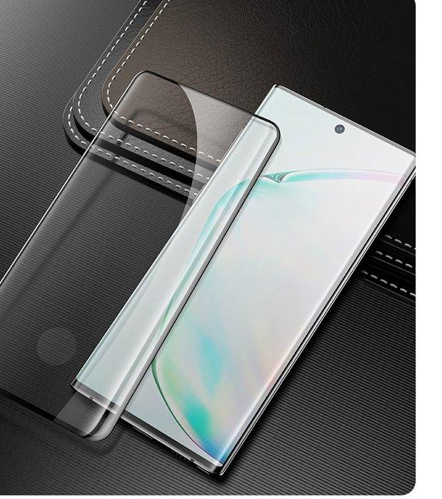 泳 熱賣中 Benks Note10+ XPRO+ 3D曲面全覆蓋玻璃螢幕保護貼 手機保護貼 螢幕保護貼