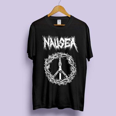 NAUSEA 樂團短袖T恤 龐克 PUNK CRUST
