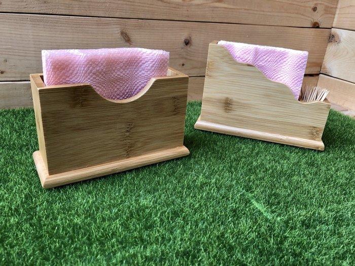 竹藝坊-紙巾盒/餐巾架/衛生紙盒/菜單架/帳單架(可客製刻字/LOGO)