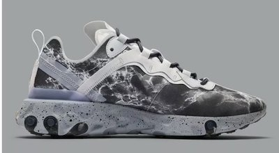 全新 Kendrick Lamar x Nike React Element 55 大理石 CJ3312-001