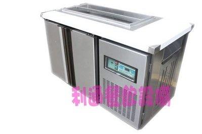 《利通餐飲設備》瑞興4尺-工作台冰箱+沙拉6格 全藏  沙拉盒 冷藏冰箱 台灣製造 風冷工作台冰箱