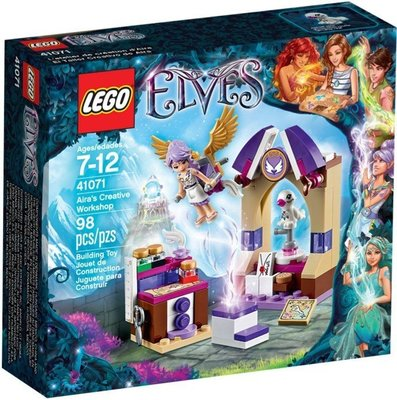 LEGO 樂高 Elves 魔法精靈:41071 艾拉的創意工作坊