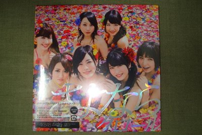 AKB48 Sayonara Crawl 再見自由式 CD+DVD Type B 初回限定盤 2013年 全新未拆