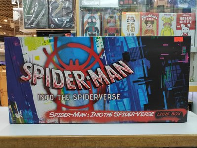 旺角店鋪即日可交收 Hottoys spider man 蜘蛛俠 Into the Spider Verse Cosbaby 燈箱 Light Box 現貨