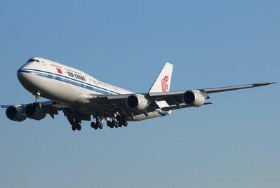 **飛行夢想家**中國國際航空 / Air China Intern &B747-800&1:200&航空迷精緻典藏!!