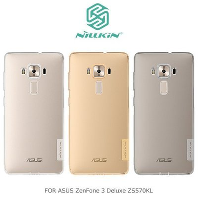 ASUS ZenFone 3 Deluxe 5.7吋 ZS570KL NILLKIN 本色系列 軟殼 透明殼 保護殼 殼