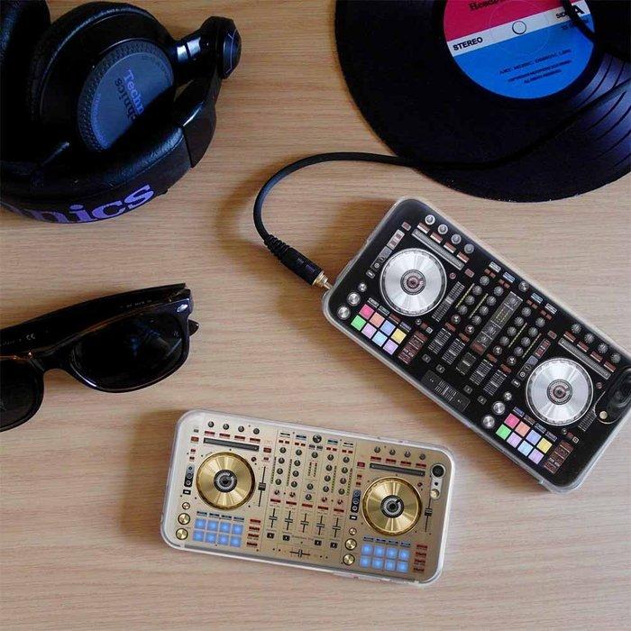 第二代-防摔太空DJ系列立體手機殼-雙色 (pioneer,serato,numark)