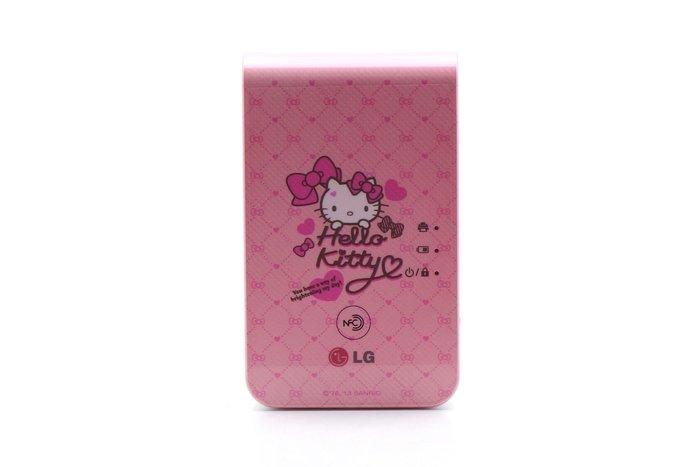 【台中青蘋果】LG PD239SP — Hello Kitty 二手 口袋相印機 公司貨 #47453