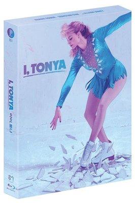 毛毛小舖--藍光BD 老娘叫譚雅 全紙盒限量鐵盒版B款 I, Tonya 瑪格羅比
