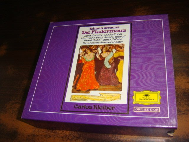 好音悅 半銀圈 Kleiber 小克萊巴 約翰‧史特勞斯Die Fledermaus 蝙蝠 2CD DG 德PMDC版