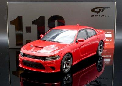 【M.A.S.H】現貨特價 GT Spirit 1/18 Dodge Charger SRT Hellcat red