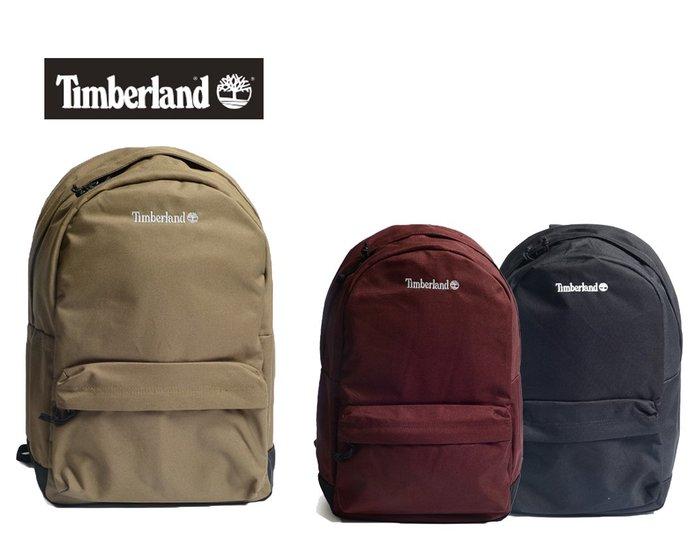 Timberland logo基本多多功能後背包22L 筆電保護夾層 電腦包/運動背包 黑紅軍綠 ↗小夫妻精品嚴選↖