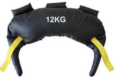 【奇滿來】12KG牛角包 保加利亞訓練袋 重量訓練 核心肌群 瘦身 健身 負重袋 深蹲訓練 爆發力 健身房 AAOK