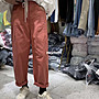 (現貨)韓國純色高腰百搭直筒寬褲