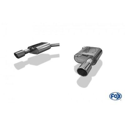 DIP 德國 Fox 排氣管 Audi 奧迪 A6 4G 3.0l TFSI 尾段 雙邊 單出 圓形 專用 11-18