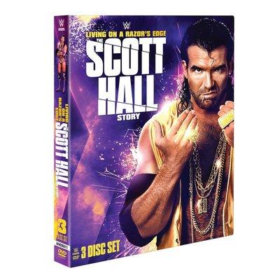 ☆阿Su倉庫☆WWE摔角 Living on a Razor's Edge The Scott Hall DVD 專輯