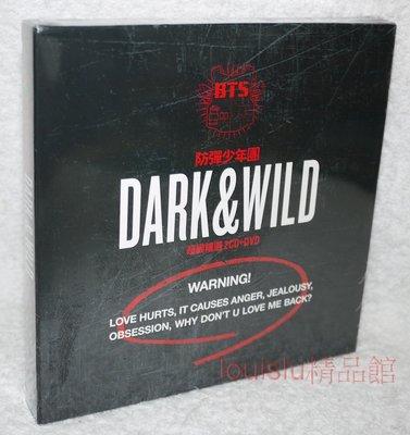 BTS 防彈少年團 Dark & Wild 超級精選 豪華盤【台版2 CD+DVD+104P寫真集】未拆
