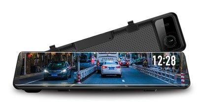威宏專業汽車音響 現貨 DynaQuest DVR-122 後視鏡+前後行車記錄器  可購GPS天線 同ALPINE公司