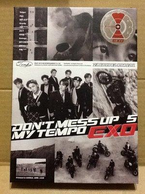 ~拉奇音樂~ EXO / DON'T MESS UP MY TEMPO 二手保存良好片況新。2。