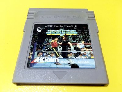 幸運小兔 GB遊戲 GB WWF 超級明星摔角 2 WWF Super Stars GameBoy GBA 適用 D6