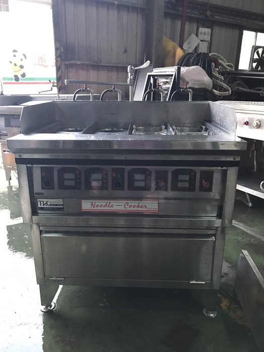 二手家具全省收購(大台北冠均 泰山店)二手貨中心--IC觸控八孔煮麵機(分四槽)Z-032898