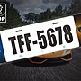 【STREET PARK】訂製 歐盟 車牌裝飾 Lamborghini Huracan【原價780$ 特價 580$】