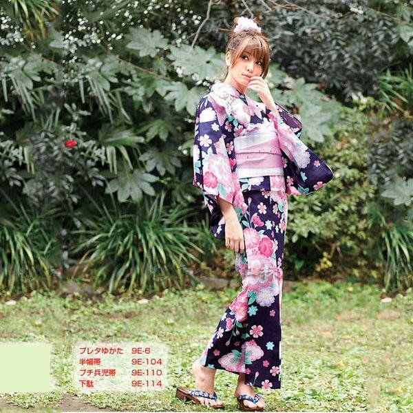 5Cgo【鴿樓】會員有優惠 9864097854 日系lolita 日本和服浴衣套裝和風 日式浴衣和服 動漫角色扮演