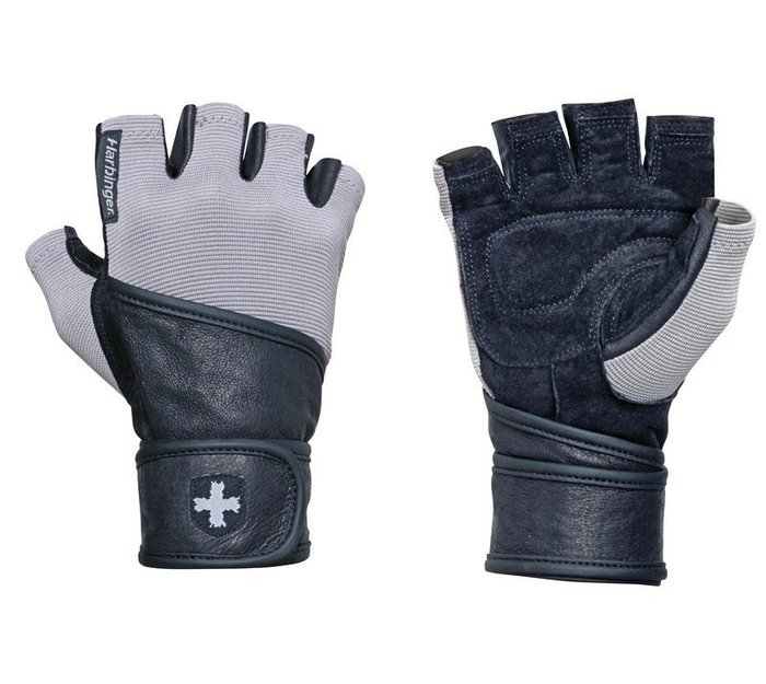 [線上體育]L12714113033 Harbinger Classic  男  L 重訓/健身護腕手套