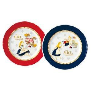 4165本通 ALICE 愛莉絲 日本製 二入陶瓷盤組 4959079279342 下標前請詢問