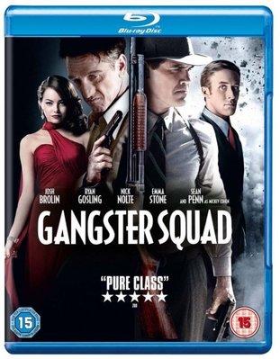 BD 全新英版【風雲男人幫】【Gangster Squad】Blu-ray 藍光 西恩潘