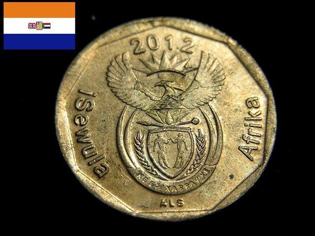 【 金王記拍寶網 】T1830  南非  錢幣一枚 (((保證真品)))