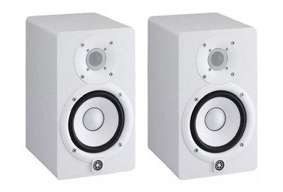 【六絃樂器】全新 Yamaha HS5 二音路主動式監聽喇叭* 2 白色款 / 送美國 ProCo Y型訊號線