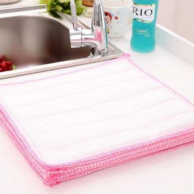 【berry_lin107營業中】30*35潔白不沾油洗碗布4片裝 廚房清潔巾 擦碗洗碗抹布 清潔布