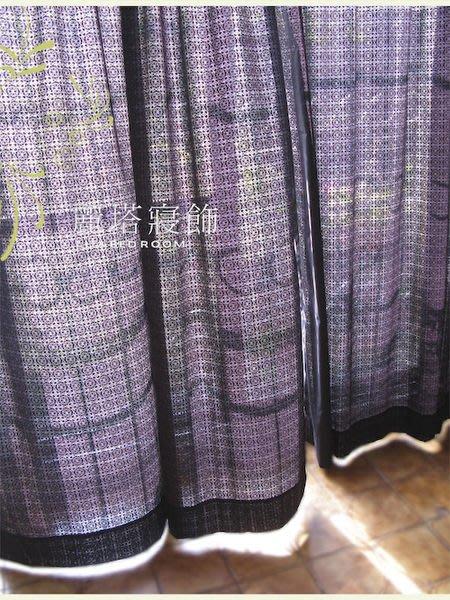 -麗塔2- DIY穿桿式透感窗簾《花窗》L簾(270X180)