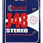 造韻樂器音響- JU-MUSIC - Radial J48 Stereo 48V幻象供電 DI  『公司貨,免運費』