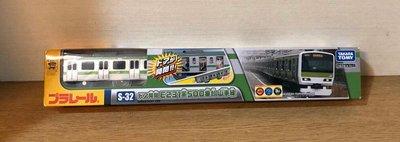 《GTS》純日貨PLARAIL鐵道王國 S-32 E231 500番台山手線 車門可開 81747